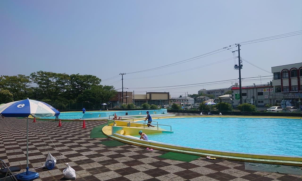小名浜市民プールの幼児プール